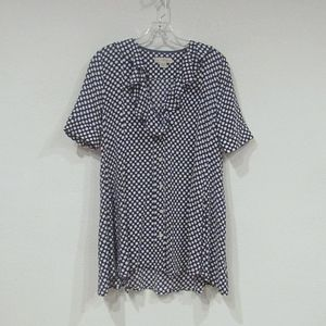 Anthropologie 11.1.Tylho Ruffled Tunic Top